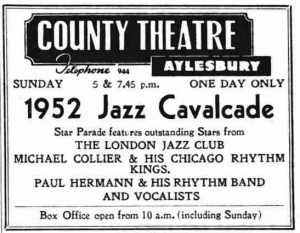 1952 Jazz Cavalacade ad
