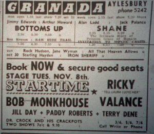 Bob Monkhouse ad