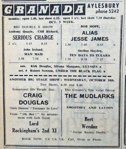 Craig Douglas ad