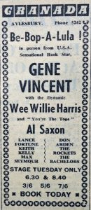 Gene Vincent ad