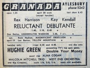 Hughie Green ad