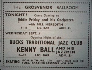 Kenny Ball ad Sept 57