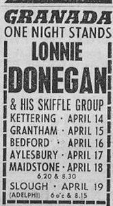 Lonnie Donegan 1958