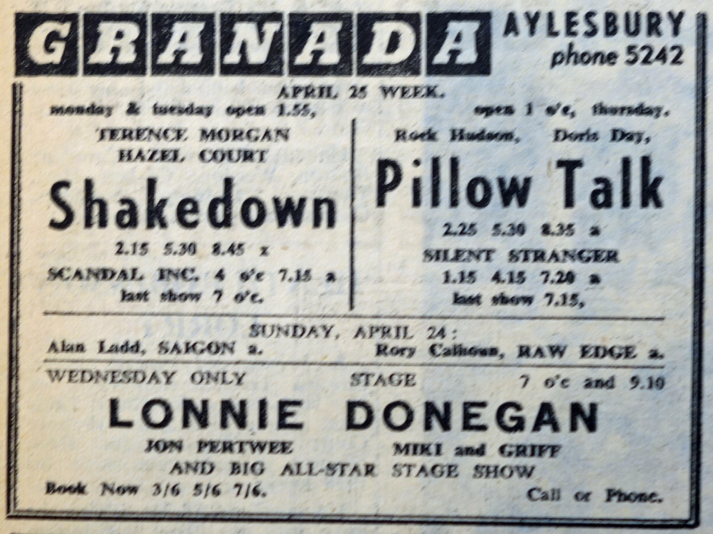 Lonnie Donegan His Group Pick A Bale Of Cotton Steal Away