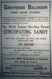 Syncopating Sandy ad