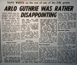 Arlo Guthrie review