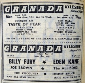 Billy Fury Granada
