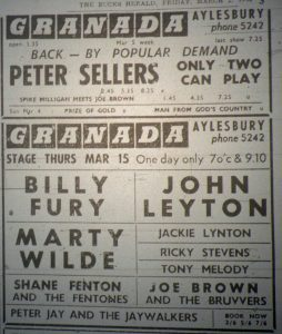 Billy Fury ad
