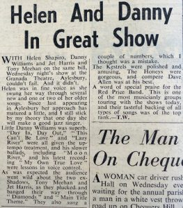 Helen Shapiro review