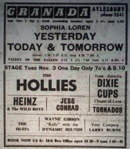 Hollies ad