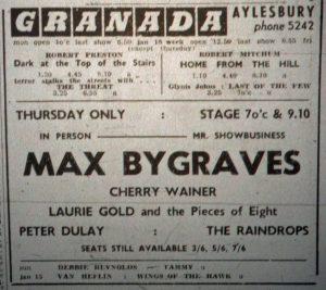 Max Bygraves Granada