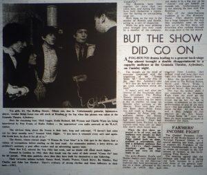 Rolling Stones report