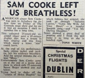 Sam Cooke Granada review Bucks Advertiser
