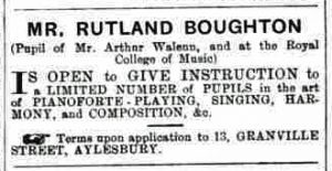From Bucks Herald 14 January 1899