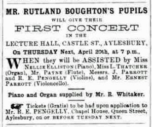 Bucks Herald 15 April 1899